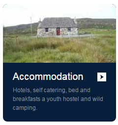 Accommodation listings for Isle of South Uist