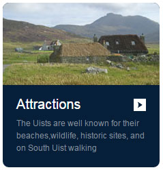Attractions listings for Isle of South Uist