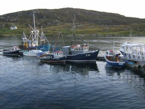 Eriskay Fishing Port