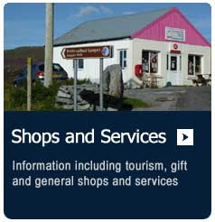 shops and services on the Isle of South Uist