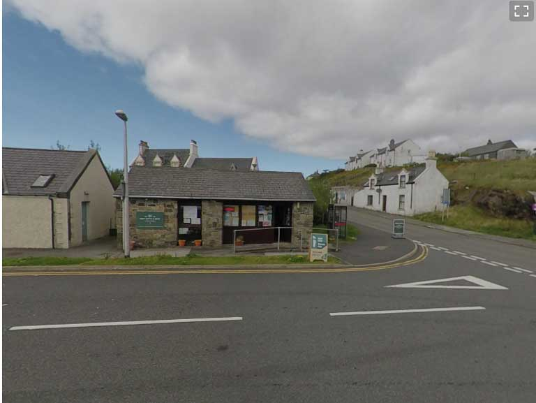 Tourist office Loch Boisdale